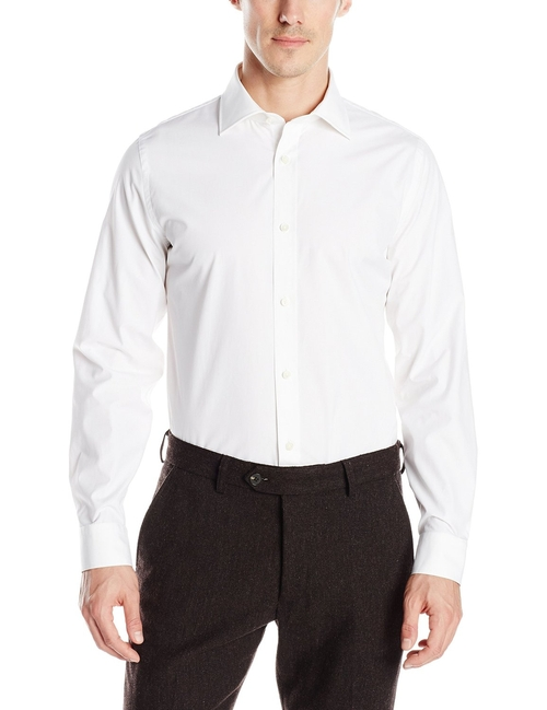 Solid Bradford Spread-Collar Shirt by Jack Spade in Bridge of Spies