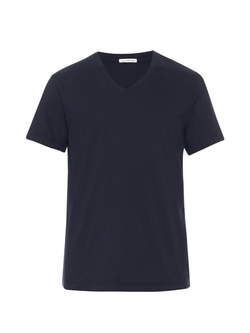 V-Neck Jersey T-Shirt by James Perse in Arrow