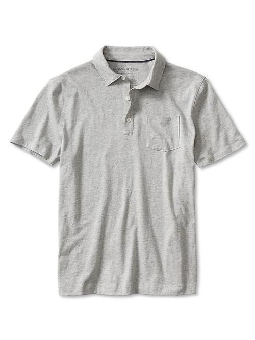 Neps Chest-Pocket Polo by Banana Republic in Neighbors