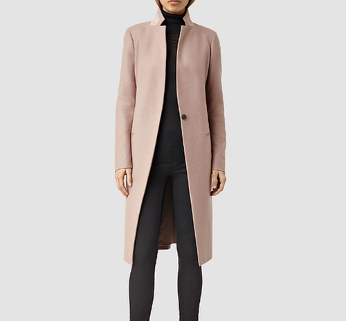 Nehru Coat by AllSaints in Guilt - Season 1 Episode 1
