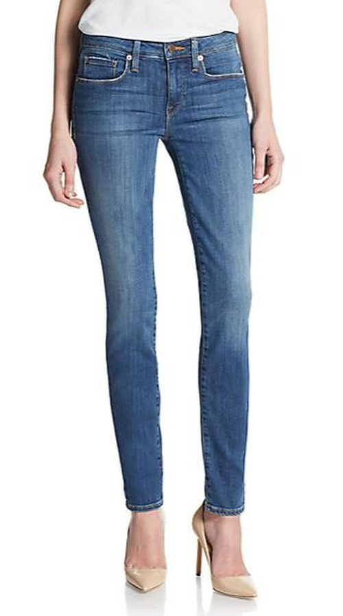 Stem Mid-Rise Skinny Jeans by Genetic Denim in Modern Family