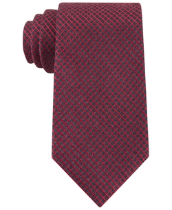 Hot Grid Slim Tie by Calvin Klein in The Good Wife