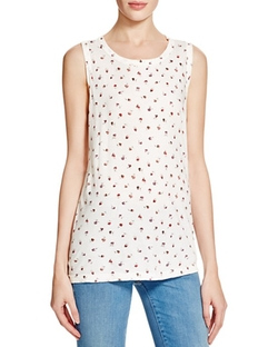 The Muscle Ditsy Floral Tee by Current/Elliott in Fuller House