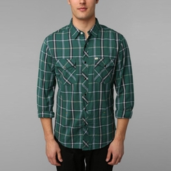 Salt Valley Tufts Plaid Western Shirt by Urban Outfitters in The Big Bang Theory
