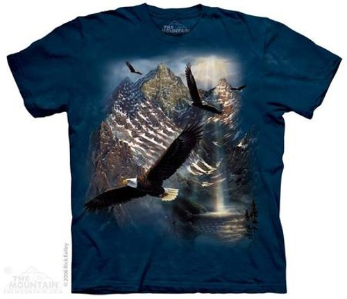 Reflections Of Freedom T-shirt by The Mountain in St. Vincent