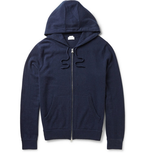 Cashmere Hoodie Jacket by Club Monaco in The D Train