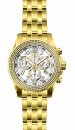 Pro Diver Chronograph Silver Dial Gold-Plated Mens Watch by Invicta in Pain & Gain