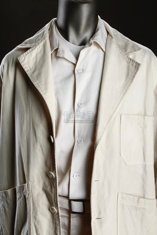 Orderly Uniform Long Sleeve Shirt (Leonardo DiCaprio) by Sandy Powell (Costume Designer) in Shutter Island