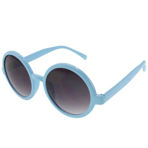 Pastel Colors Oversized Retro Style Round Sunglasses by Birch in Wish I Was Here