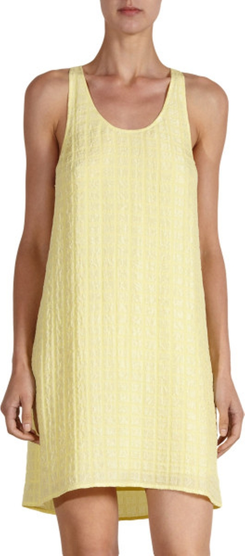 Yellow Cude Jacquard Dress by Balenciaga in The Other Woman