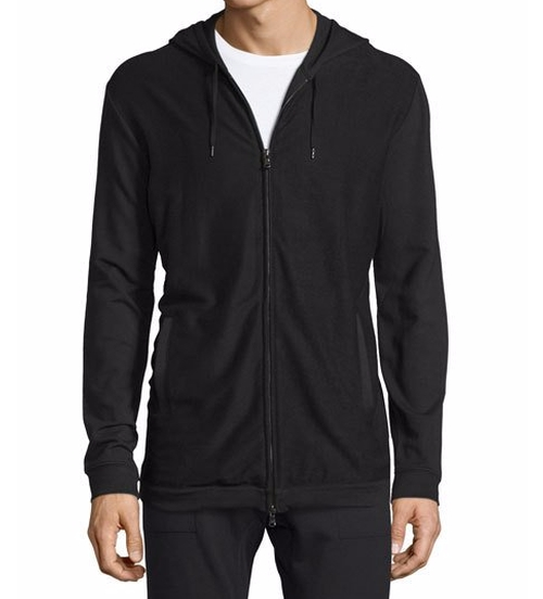 Stretch-Knit Zip Hoodie by John Varvatos Star USA in The Flash - Season 2 Episode 6