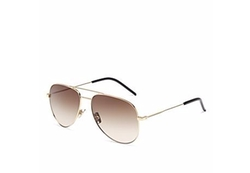 Classic Aviator Sunglasses by Saint Laurent in Sisters