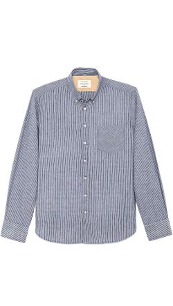 Button Down Oxford Shirt by Rag & Bone in The Disappearance of Eleanor Rigby