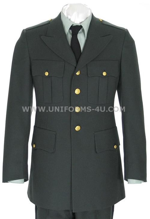 US ARMY CLASS A ENLISTED / OFFICERS GREEN COAT by uniforms-4u in Edge of Tomorrow