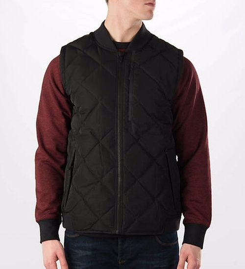 Downtown 550 Full-Zip Vest by Nike in Creed