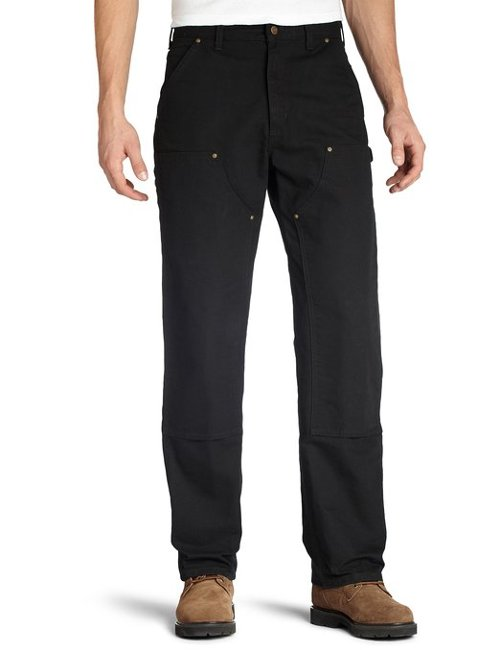Men's Washed Duck Double Work Pants by Carhartt in Hot Pursuit