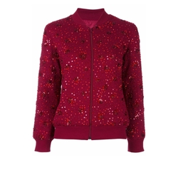 Sequined Bomber Jacket by Ashish in Empire