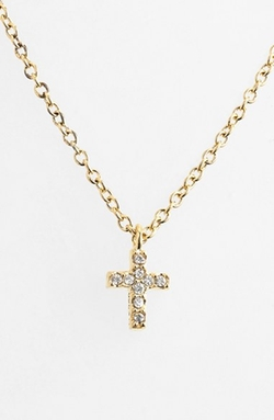 Boxed Reversible Cross Necklace by Judith Jack in Clueless