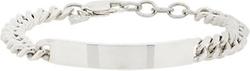 Silver ID Bracelet by Loren Stewart in Ballers