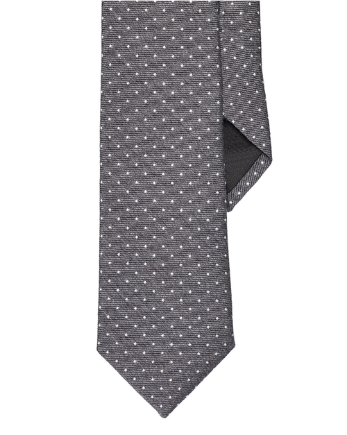 Polka-Dot Narrow Tie by Ralph Lauren in The Blacklist - Season 3 Episode 6