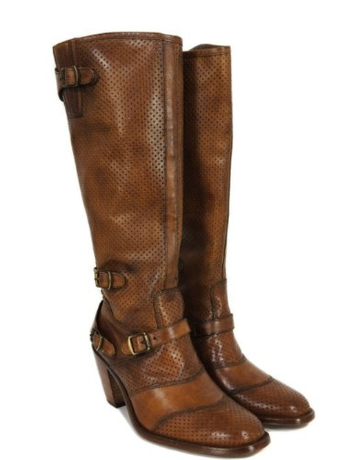 Trialmaster High Heel Antique Cuero Boots by Belstaff in The Twilight Saga: Breaking Dawn - Part 2