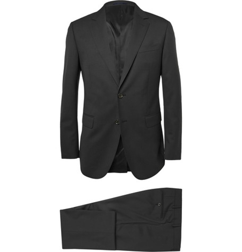 Attitude Slim-Fit Wool Suit by Lanvin in Southpaw