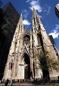 New York City, New York by St. Patrick's Cathedral in Sex and the City 2