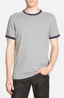 'Ringer Sport' T-Shirt by Fred Perry in Deadpool
