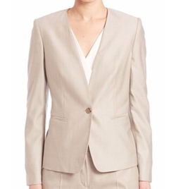 Colonia Tailored Wool Blend Jacket by Max Mara in The Flash