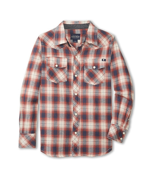 Kids Racer Western Woven by Lucky Brand in Max