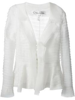 Sheer Layered Jacket by Oscar De La Renta in Suits