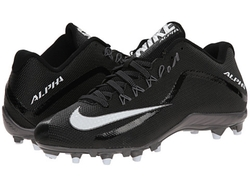 Alpha Pro Football Cleats by Nike in Ballers