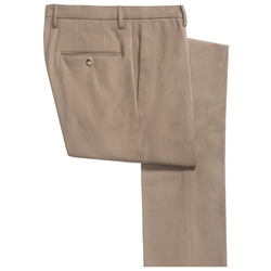 Scott Comfort Cotton Dress Pants by Incotex in Scandal