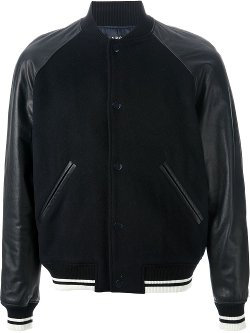 'Kenickie' contrast bomber jacket by A.P.C. in Fast & Furious 6