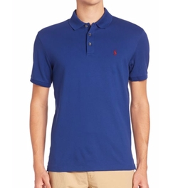 Solid Polo Shirt by Polo Ralph Lauren in Lethal Weapon