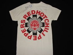Vintage T-Shirt by Red Hot Chili Peppers in Top Five