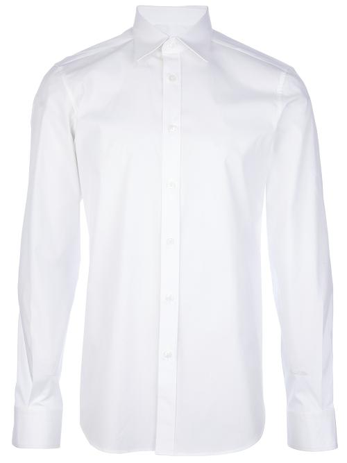 pointed collar dress shirt by Z ZEGNA in Brick Mansions