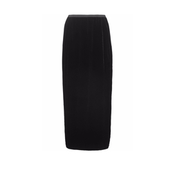 Velvet Maxi Skirt by Rick Owens in Keeping Up With The Kardashians