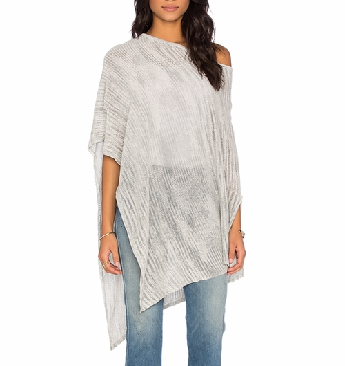 Oahu Off Shoulder Poncho by Central Park West in Grace and Frankie - Season 2 Episode 6