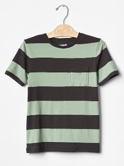 Rugby Stripe Pocket T-Shirt by Gap in Me and Earl and the Dying Girl