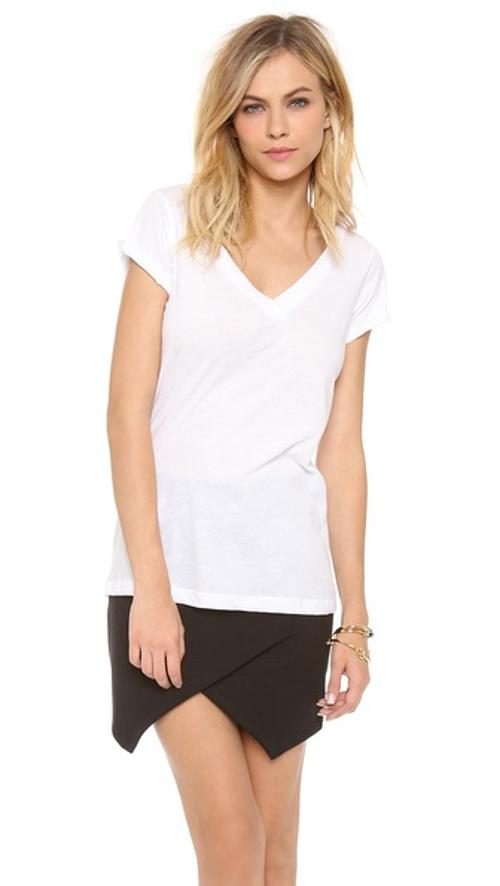 Deep V tee by LNA in Lucy