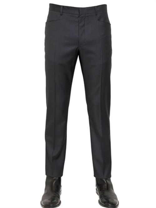 18cm Wool Gabardine Trousers by Maison Martin Margiela in Get On Up