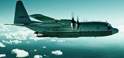 C-130 Hercules Turboprop Aircraft by Lockheed in Point Break