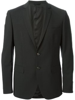 Classic Two Piece Suit by Tonello in Black or White