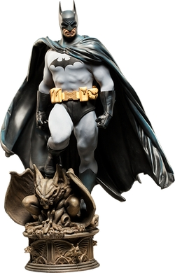 Batman Premium Format Figure by Sideshow Collectibles in The Big Bang Theory