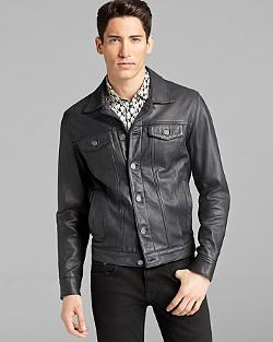 Lambskin Leather Jacket by MARC BY MARC JACOBS in About Last Night