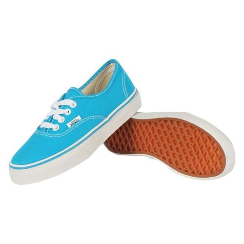 Youth K Authentic Shoes In Methyl Blue/True White by Vans in Wish I Was Here
