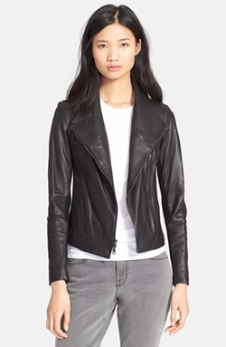 Leather Scuba Jacket by Vince in The Women