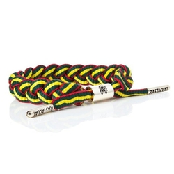 Braided Shoelace Bracelet by Rastaclat in Birdman