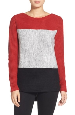 Colorblock Sweater by Trouvé in Master of None